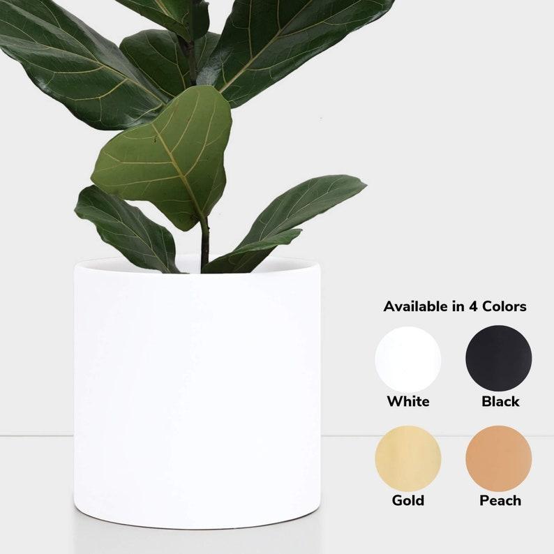 Indoor Planter Ceramic Plant Pot 12 10 Etsy
