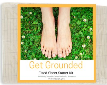 Grounding Full / Double Size Fitted Bed Sheet Kit - (137 x 203 cm)