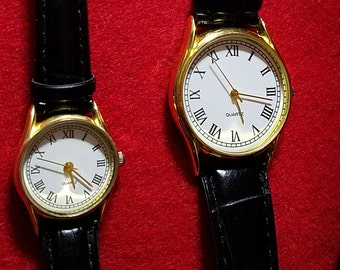 His and Hers Wrist Watch