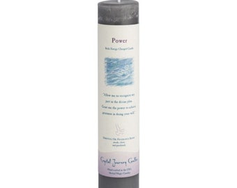 Power, Reiki Charged Wish Candle, Intention and Affirmation Candle, Spell Scented, Essential Oils