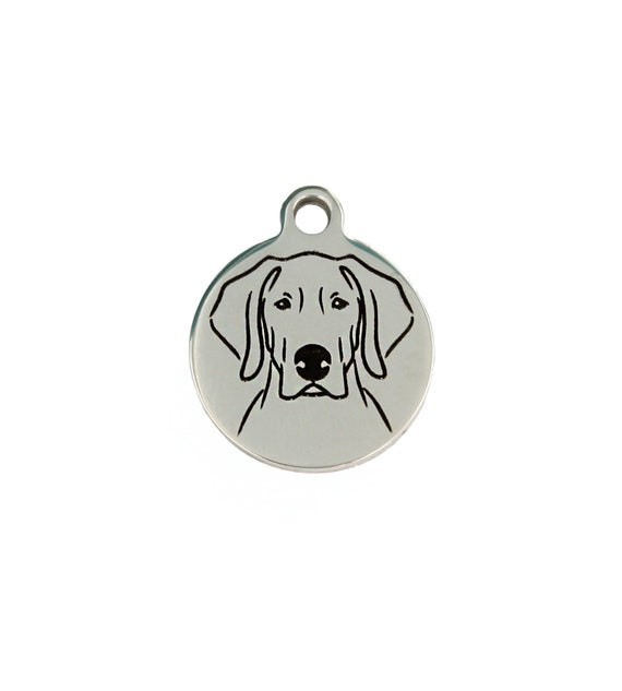 19mm Silver Yellow Plated Basset Hound Dog Charm