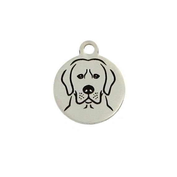 Lab Labrador Golden retrieve dog charm pendant bracelet necklace Jewelry gifts