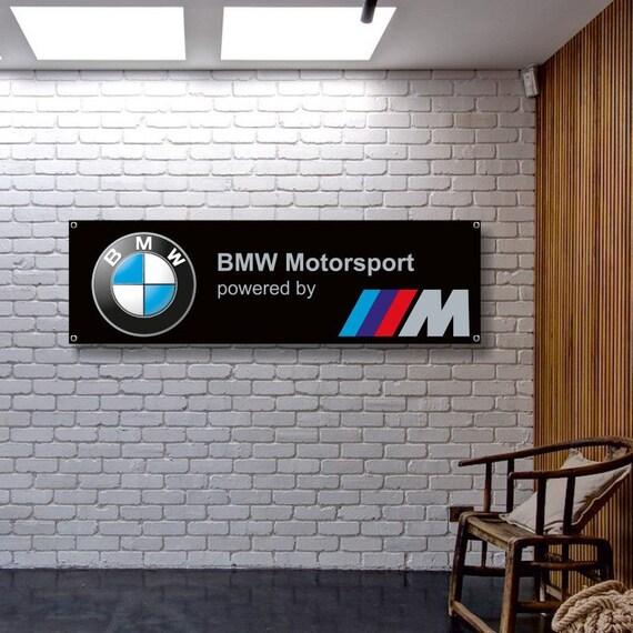 BMW Logo Premium Flag 3/' x 5/' Indoor Outdoor Automotive Banner USA Seller