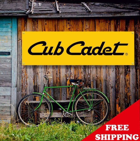 Cub Cadet Vinyl Banner Sign Garage Workshop Adversting Flag Poster Free Shipping