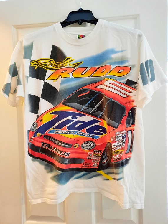 Vintage Nascar Ricky Rudd Tshirt XL