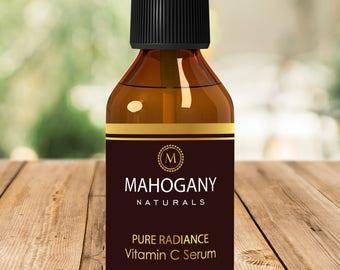 Mahogany Naturals Pure Radiance Vitamin C Serum