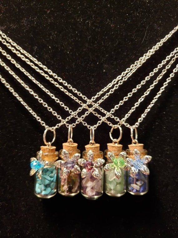 Wish in a Bottle Necklace