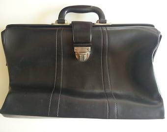Vintage Leather Doctor Bag