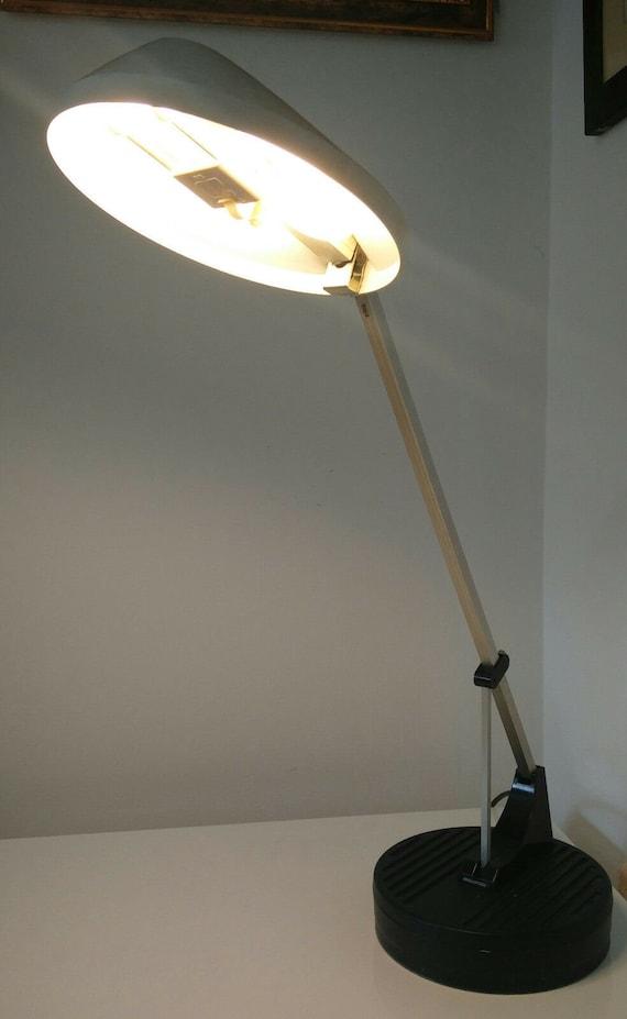 Vintage 1960s White Wl1 Anglepoise Desk Lamp Herbert Terry Etsy