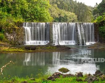 Kaua'i Waterfall, Landscape Photography, Fine Art Photography, Nature Photography, Kauai Photography, Hawaii Photography, Waterfall
