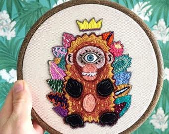 The cheeky monkey