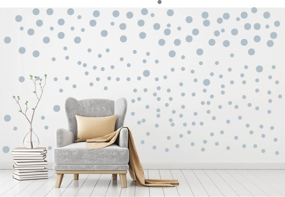 mural wall stickers 198 RINGS /& POLKA DOTS vinyl decal