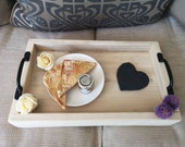 Rustic Reclaimed Scaffold Tray Serving Tray Kitchen Accessories Solid Wood Industrial Contemporary Home Decor Farmhouse