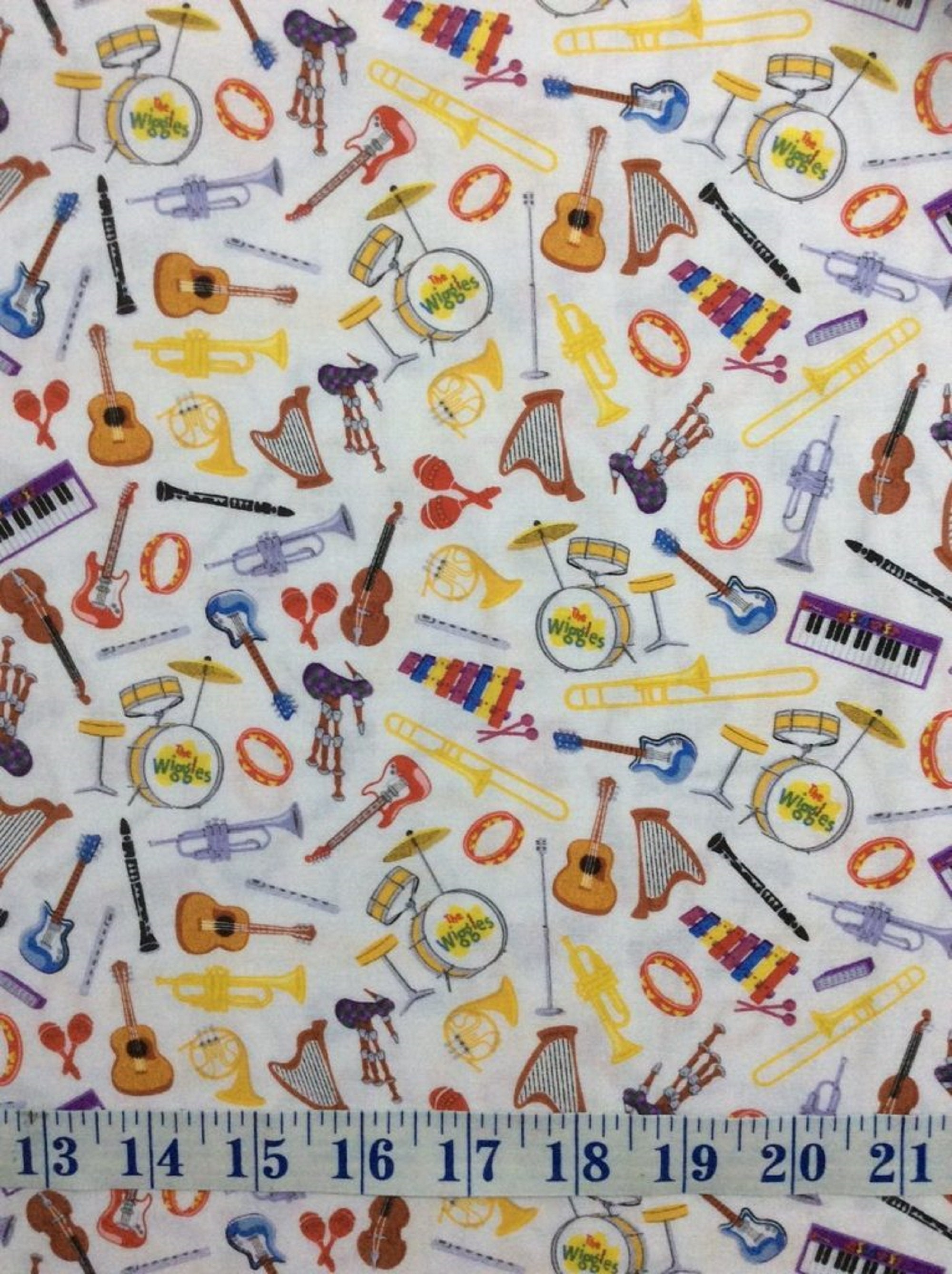 Ready Instruments Red by Riley Blake Designs Wiggle your choice of cut Steady