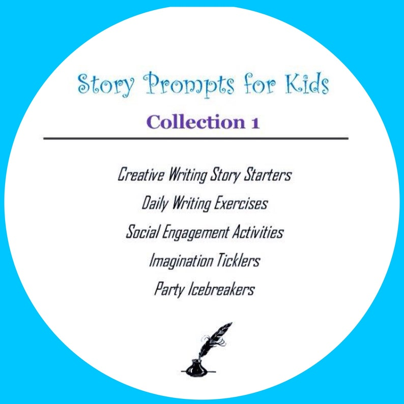 Story Prompts, Kids Story Starters, Creative Writing Story Prompts for  Children, Summer Writing, Writing Exercises