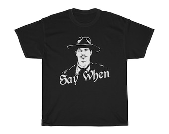 05c7c053f301 Tombstone Say When Doc Holliday western shirt