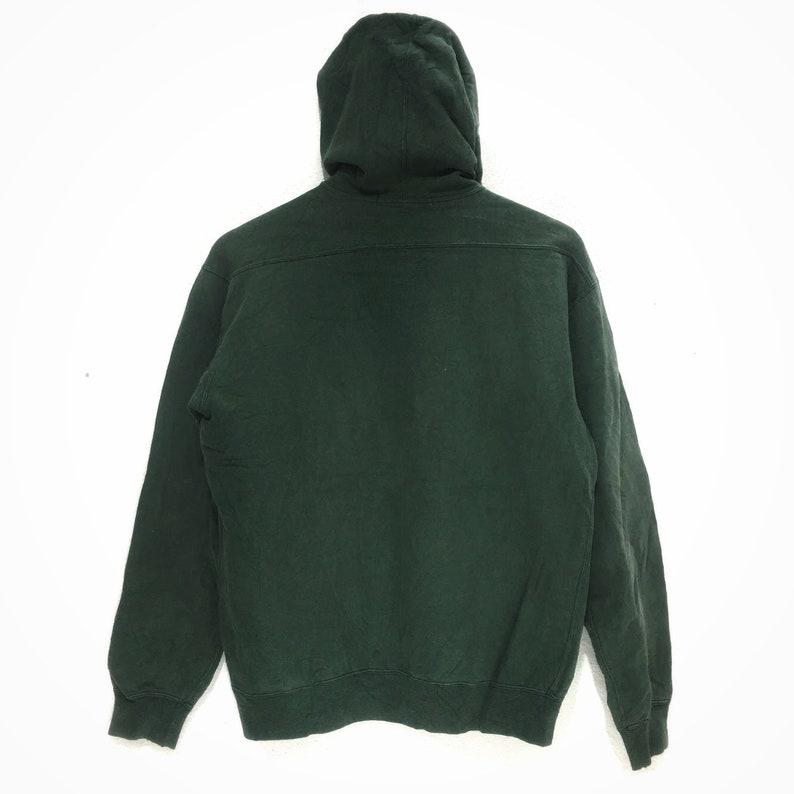 Vintage CHAMPION PRODUCT USA Green Hoodie Sweatshirt Jumper Athletic Apparel