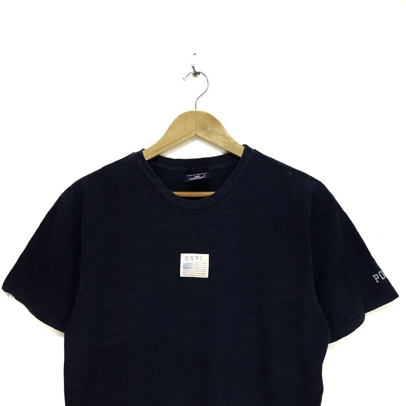 aaa2e21a Vintage Polo Sport Ralph Lauren USRL Patch Box Logo Tee Shirt | Etsy