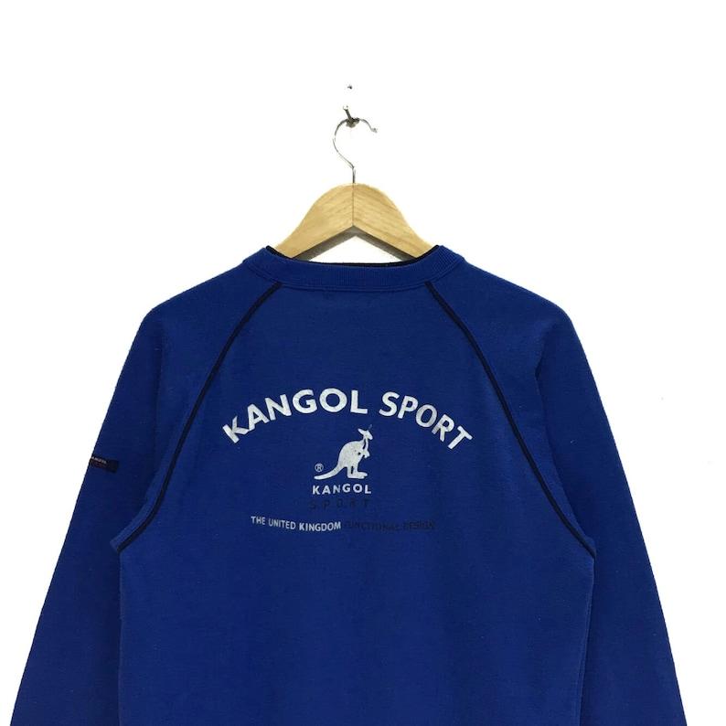 Vintage KANGOL SPORT Big Logo United Kingdom Funtional Design Sweatshirts Jumper