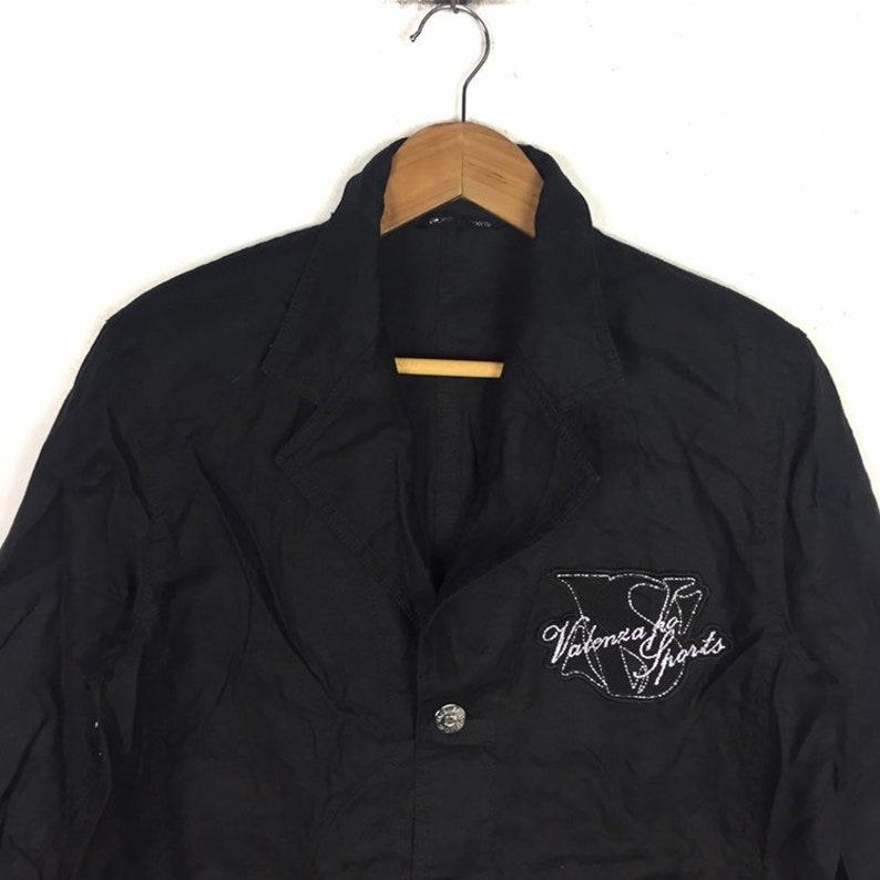 Vintage VALENZA SPORTS 3 Button Blazer Sport Coat Jacket Sweater Trench Parka Italy Designer