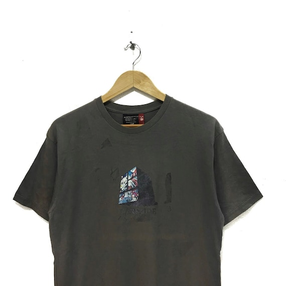 Vintage UNDERCOVER Tee Shirt JUN TAKAHASHI Darkside 2000 Fall Winter Collection Japan Undercoverism