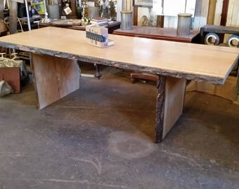 Peachy Red Oak Table Etsy Download Free Architecture Designs Licukmadebymaigaardcom