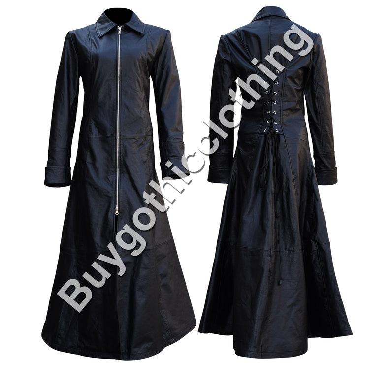 a276704c12dbb1 Women Gothic Full Length Jacket Sexy Victorian Steampunk | Etsy