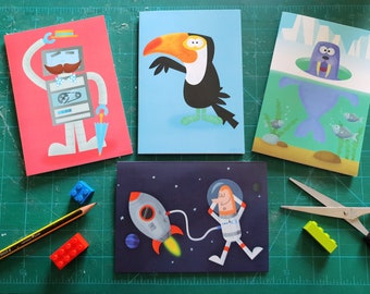 Twin Thing Greeting Card Collection