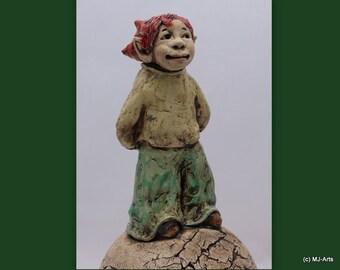 Gartenfiguren - Keramik