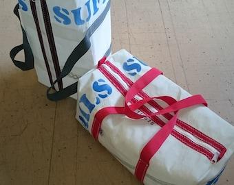 d2d46061e The Original Recycled Sail Cloth kit bag