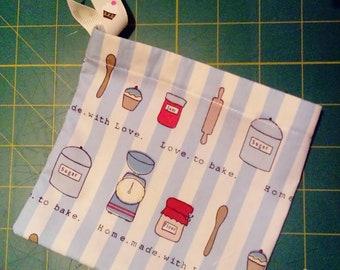 Baking Drawstring Dice Bag