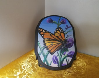 MONARCH BUTTERFLY,Custom Painting, Home Decor