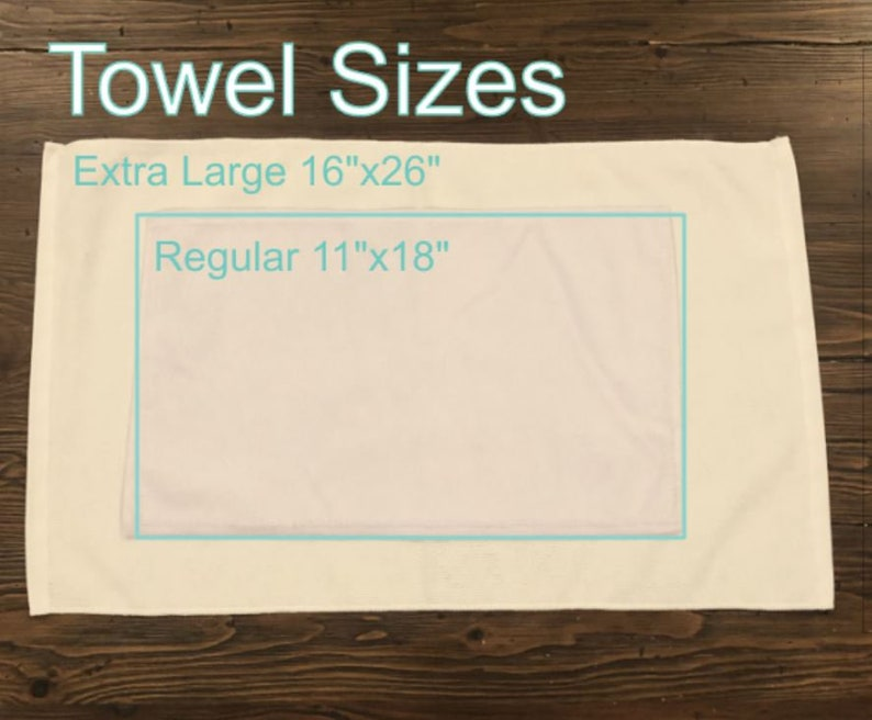 No Garbage Reps TowelWorkout Towelsublimation#MBF inspiredcolor choices2 sizesShips fast