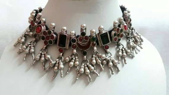 Vintage 1970s Necklace Real Old  Necklace Handmade