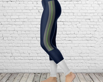 Seattle Football Uniform Athletic Leggings
