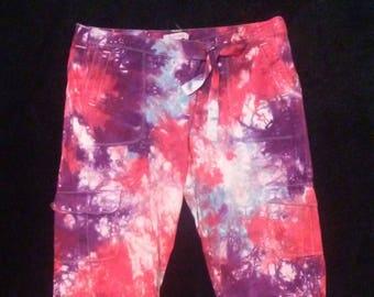 Women's Tie Dye Tie Shorts