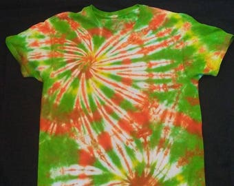 ef7f45bf Orange and Green Tie Dye T-shirt. TrinityMtnTieDyeLLC. 1 out of 5 stars ...