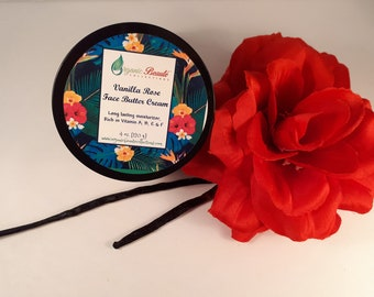 Vanilla Rose Face Butter Cream
