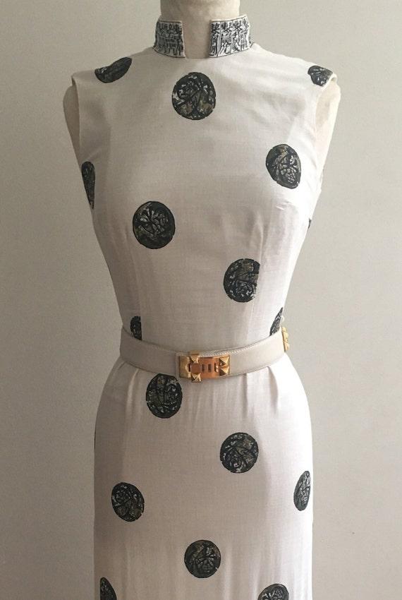 Alfred Shaheen Vintage Linen Summer Dress