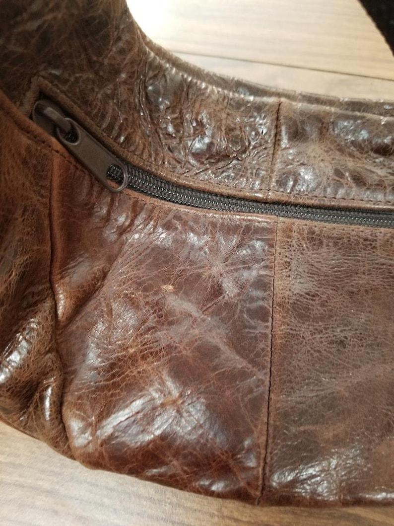Brown Purse Fanny Pack Vintage Leather Travel Wallet Cell Phone Purse Vintage Purse Belt Bag Womens Wallet Travel Purse Fanny Pack