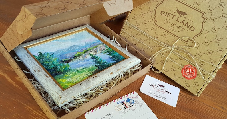Small Painting Gift Birthday Gifts For Him