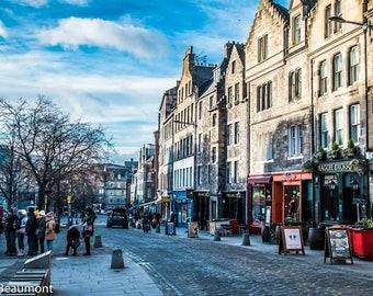 Edinburgh - Grassmarket (west)