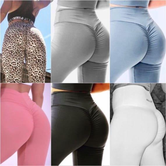 Brazilian Workout Leggings Booty Scrunch Thick Supplex Butt Gymshark Fitness