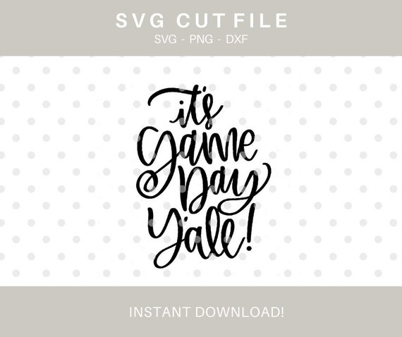 It S Game Day Y All Svg File Svg Files Game Day Etsy