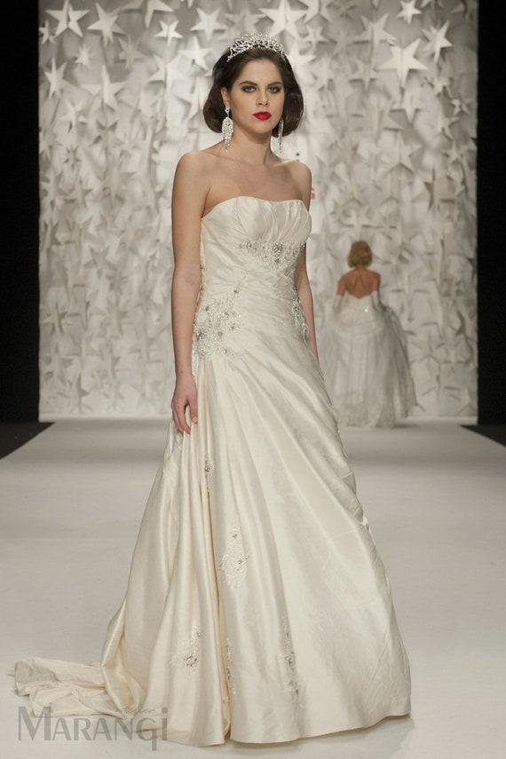 """STRETCH PEAU DE SOIE  GOLD 1 YARD 60/"""" BRIDAL GOWNS DRESSES FORMAL SUITS PANT"""