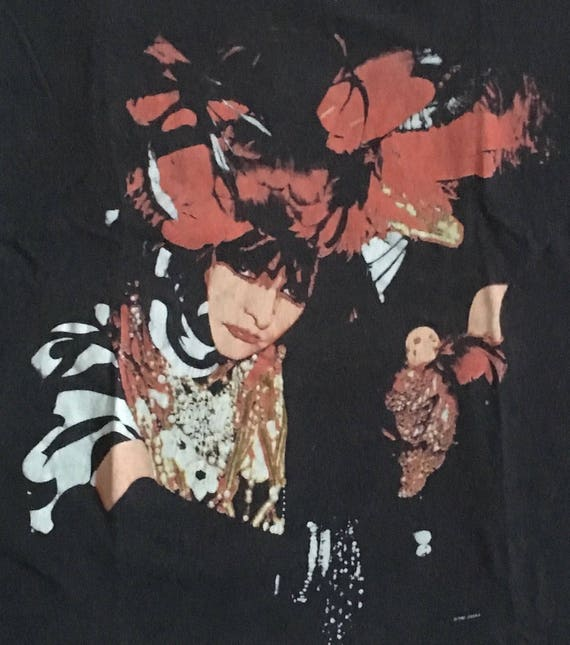 Vintage Siouxsie And The Banshees T-Shirt 1987