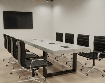 Conference Table Etsy - 84 inch conference table