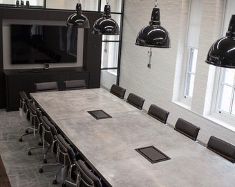 Conference Room Etsy - V shaped conference room table