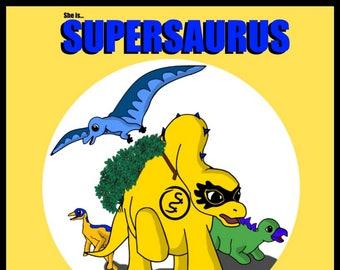 She is Supersaurus By Mark Badham-Doyle