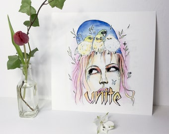 Unite. Fine Art Print 30x30cm